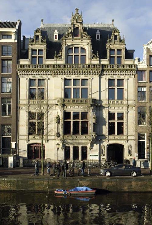 Natuurstenen gevels uit de late negentiende eeuw vereniging vrienden van de amsterdamse binnenstad - Gevels van hedendaagse huizen ...