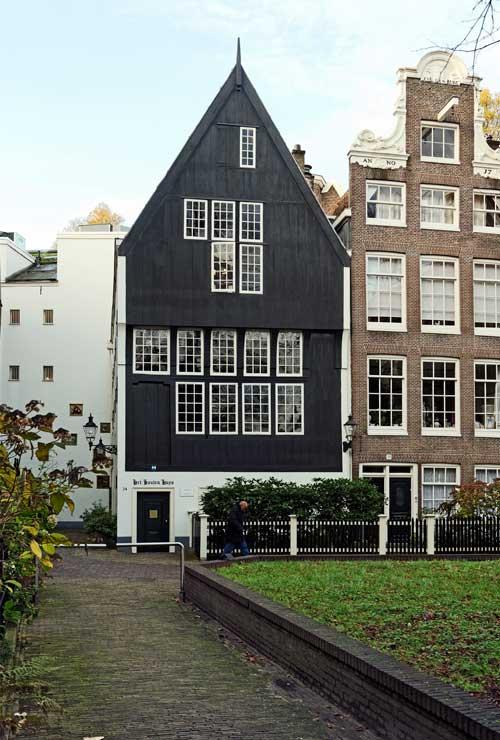 Houten huys op het begijnhof minder oud dan gedacht vereniging vrienden van de amsterdamse - Houten huis ...